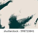 distress overlay background.... | Shutterstock .eps vector #598723841