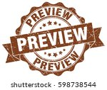preview. stamp. sticker. seal.... | Shutterstock .eps vector #598738544