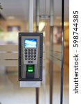 Small photo of Door electronic access control system machine