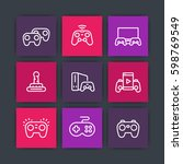 gamepads icons  game...