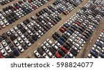 aerial view of huge storage... | Shutterstock . vector #598824077