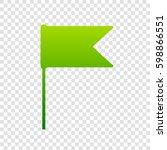 flag sign illustration. vector. ...