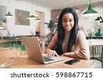 digital marketing specialist is ...   Shutterstock . vector #598867715