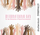 international day for the... | Shutterstock .eps vector #598894619