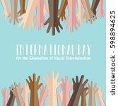 international day for the... | Shutterstock .eps vector #598894625