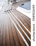 Small photo of Ropes On Aboard Of Yacht