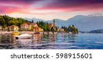 Colorful Summer Panorama Of Th...