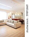 modern design living room and... | Shutterstock . vector #59891869