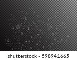 vector realistic under water... | Shutterstock .eps vector #598941665