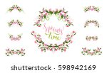 Vector Spring Page Decorations...