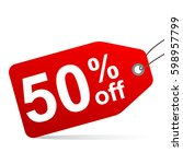 sale inscription design... | Shutterstock .eps vector #598957799