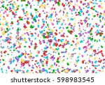 holiday background with... | Shutterstock .eps vector #598983545