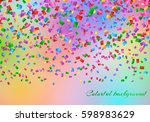 celebration background with... | Shutterstock .eps vector #598983629