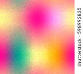 colorful halftone gradient mesh ... | Shutterstock .eps vector #598993835
