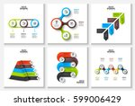 vector circles  pyramid and... | Shutterstock .eps vector #599006429