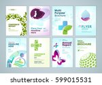 healthcare and natural products ... | Shutterstock .eps vector #599015531