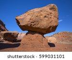 cliff dwellers village ... | Shutterstock . vector #599031101