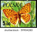 poland   circa 1977  a stamp... | Shutterstock . vector #59904283