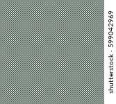 vector polka dots seamless... | Shutterstock .eps vector #599042969