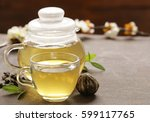 Traditional Green Tea In A...