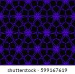 modern stylish texture....   Shutterstock .eps vector #599167619