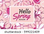 Hello Spring Banner Template...