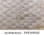 white marble texture random tile | Shutterstock . vector #599249045