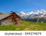 view of beautiful landscape in...   Shutterstock . vector #599279879
