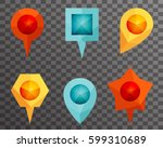 landmark showplace symbol map... | Shutterstock .eps vector #599310689