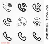 Phone Call Icons