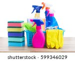 spring cleaning concept  ... | Shutterstock . vector #599346029