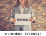 promotion concept | Shutterstock . vector #599385164
