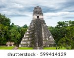 temple i  temple of ah cacao or ...   Shutterstock . vector #599414129