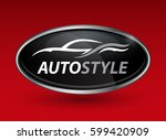 concept auto vehicle dealership ... | Shutterstock .eps vector #599420909