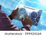 business  technology  internet ... | Shutterstock . vector #599424164