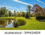 phenomenally beautiful park... | Shutterstock . vector #599424839