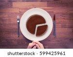 market share   marketing... | Shutterstock . vector #599425961