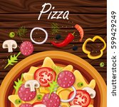 pizza menu. products for pizza  ...