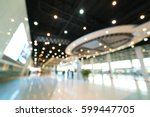 public event exhibition hall ... | Shutterstock . vector #599447705