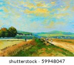 Oil Painting   Countryside