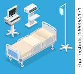 flat 3d vector illustration... | Shutterstock .eps vector #599495171