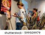 Set Of Artistic Brushes....