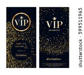vip club party premium... | Shutterstock .eps vector #599511965