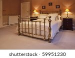 Great King Size Bed In A...
