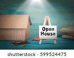 open house. home model  money...