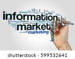 information market word cloud... | Shutterstock . vector #599532641