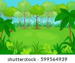 vector cartoon illustration of... | Shutterstock .eps vector #599564939