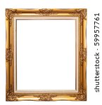 isolated wooden photo frame   Shutterstock . vector #59957761