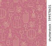 winemaking design element on...   Shutterstock .eps vector #599578631