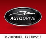 concept auto vehicle dealership ... | Shutterstock .eps vector #599589047